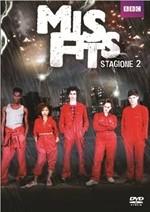 La copertina di Misfits - Stagione 2 (dvd)