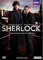 La copertina di Sherlock - Stagione 1 (dvd)