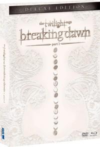 La copertina di The Twilight Saga: Breaking Dawn - Parte 1 - Deluxe Edition (blu-ray)