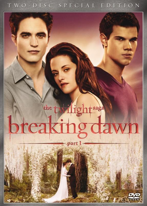 La copertina di The Twilight Saga: Breaking Dawn - Parte 1 (dvd)