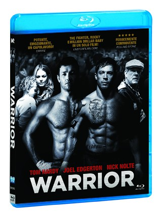 La copertina di Warrior (blu-ray)