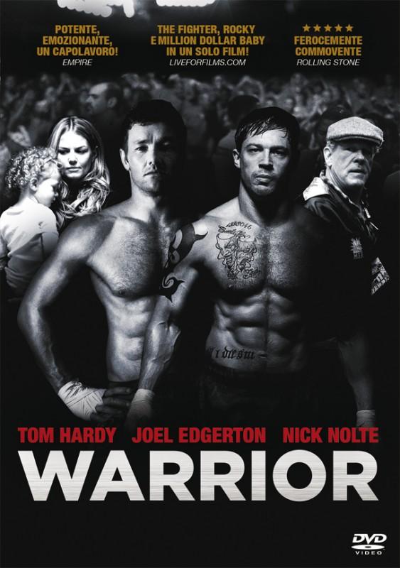 La copertina di Warrior (dvd)
