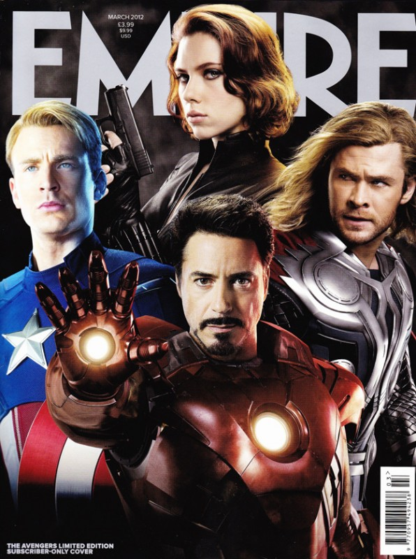 The Avengers: la copertina di Empire dedicata al team di supereroi