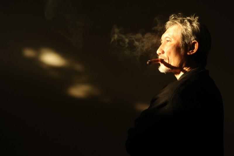 The Flying Swords of Dragon Gate: il regista Tsui Hark in una foto promozionale del film