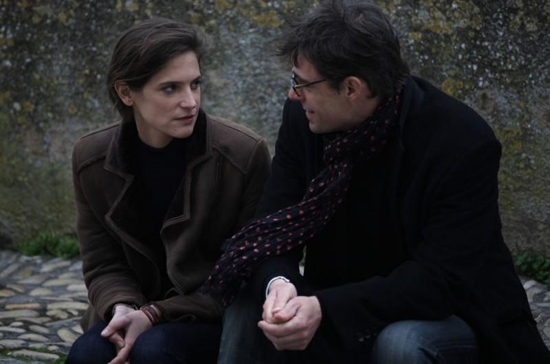 Thierry Neuvic, Hélène Fillières in Les papas du dimanche