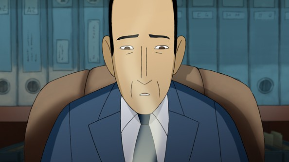 Arrugas (2012) una immagine del film d'animazione