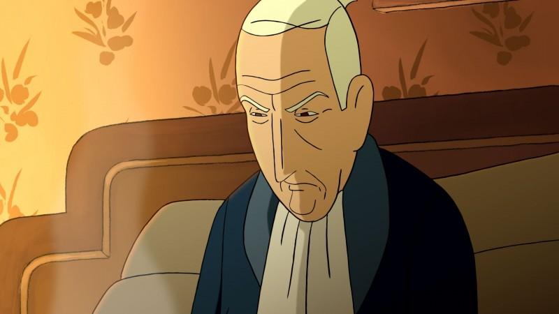 Arrugas (Rughe) una immagine del film d'animazione