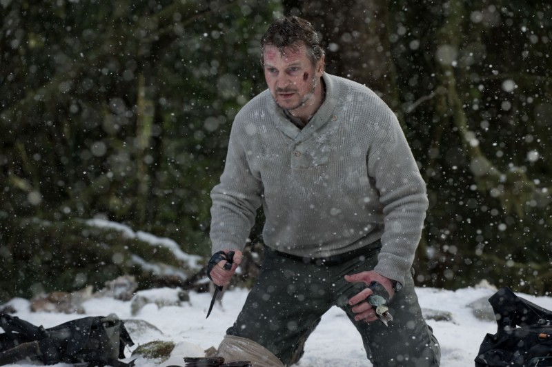 Liam Neeson è Ottway in The Grey