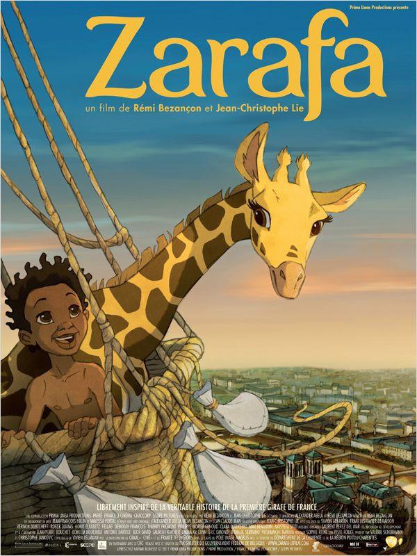 Zarafa: la locandina del film
