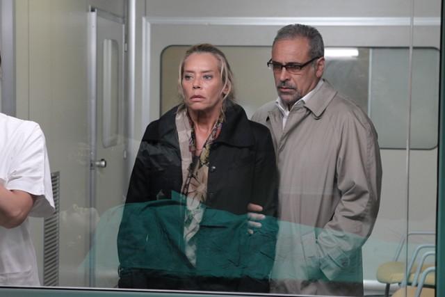 Barbara De Rossi e Enzo Decaro ne La vita che corre