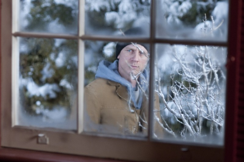 Daniel Craig in una suggestiva immagine tratta dal thriller Dream House