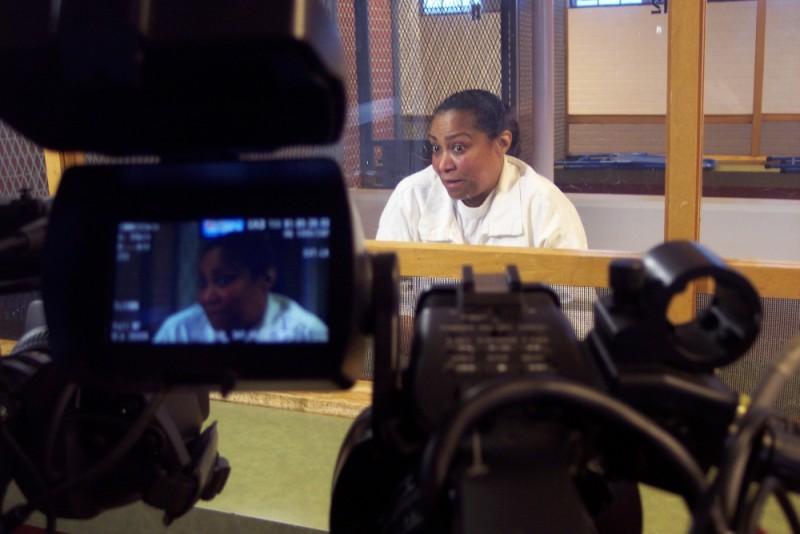 Death Row: la condannata a morte Linda Carty in una scena del documentario di Werner Herzog