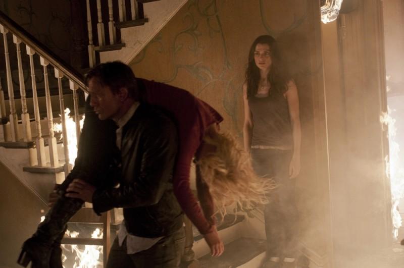Dream House: Rachel Weisz e Daniel Craig in una drammatica immagine del film