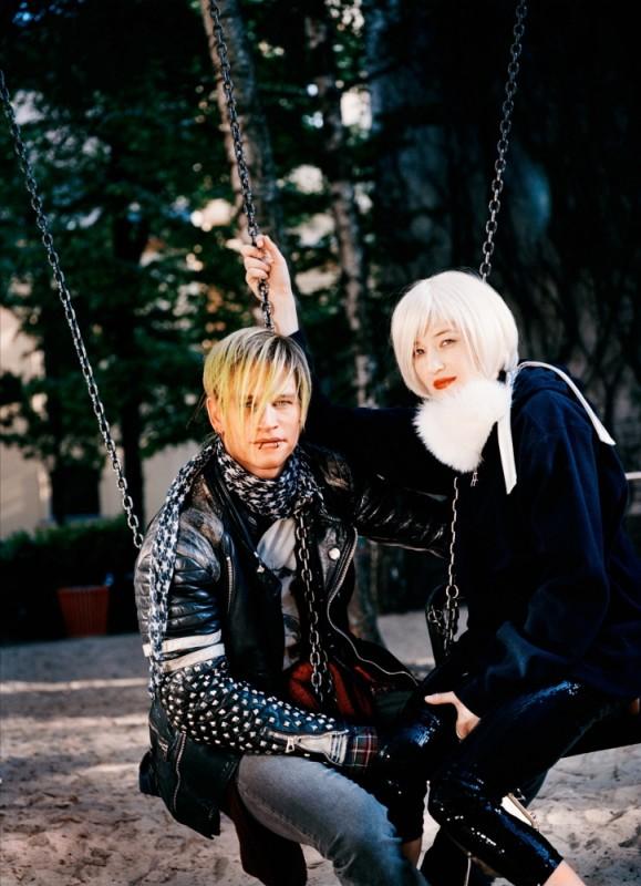 Glück: Alba Rohrwacher con Vinzenz Kiefer in una foto promozionale del film