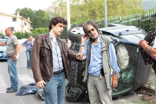 La vita che corre: Flavio Parenti e il regista Fabrizio Costa sul set