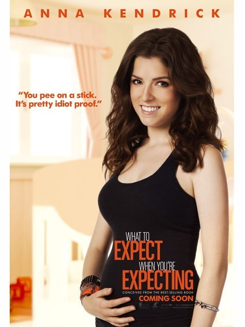 What to Expect When You're Expecting: Character Poster per Anna Kendrick