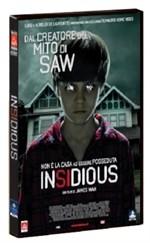 La copertina di Insidious (dvd)