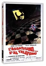 La copertina di L'assassino... è al telefono (dvd)