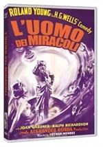 La copertina di L'uomo dei miracoli (dvd)