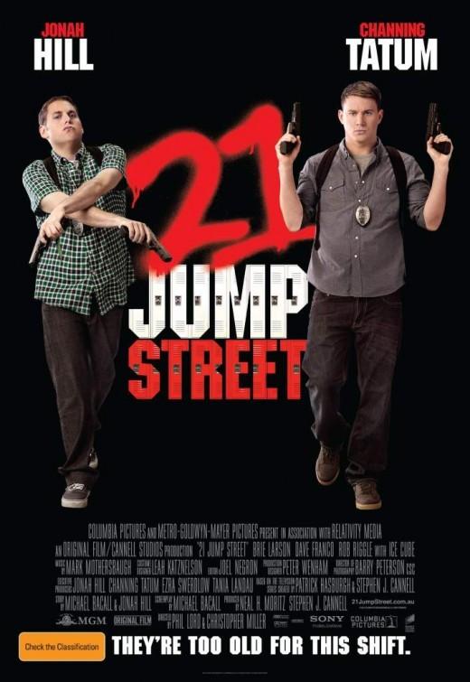 21 Jump Street: poster australiano