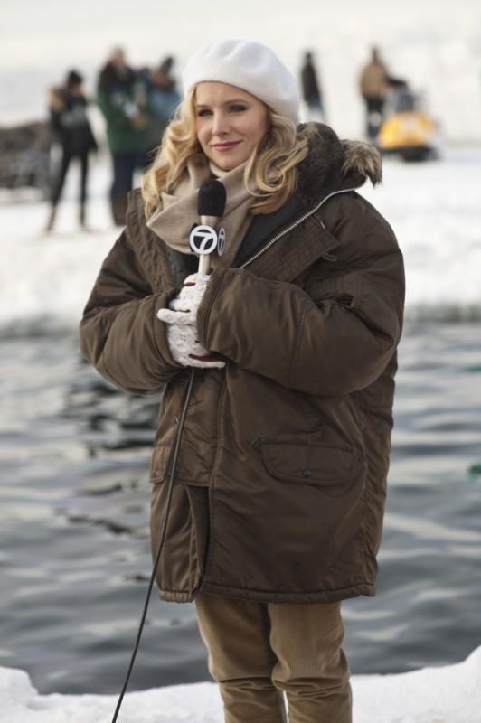 Kristen Bell sul set di Qualcosa di straordinario
