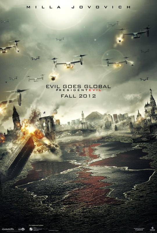 Resident Evil: Retribution: ecco il teaser poster