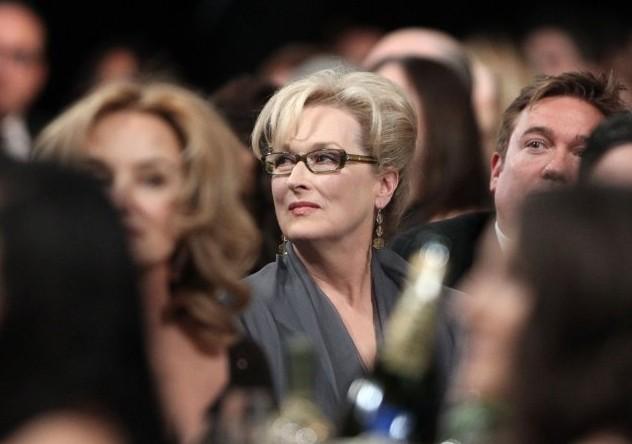 SAG 2012: Meryl Streep, candidata per The Iron Lady, in platea