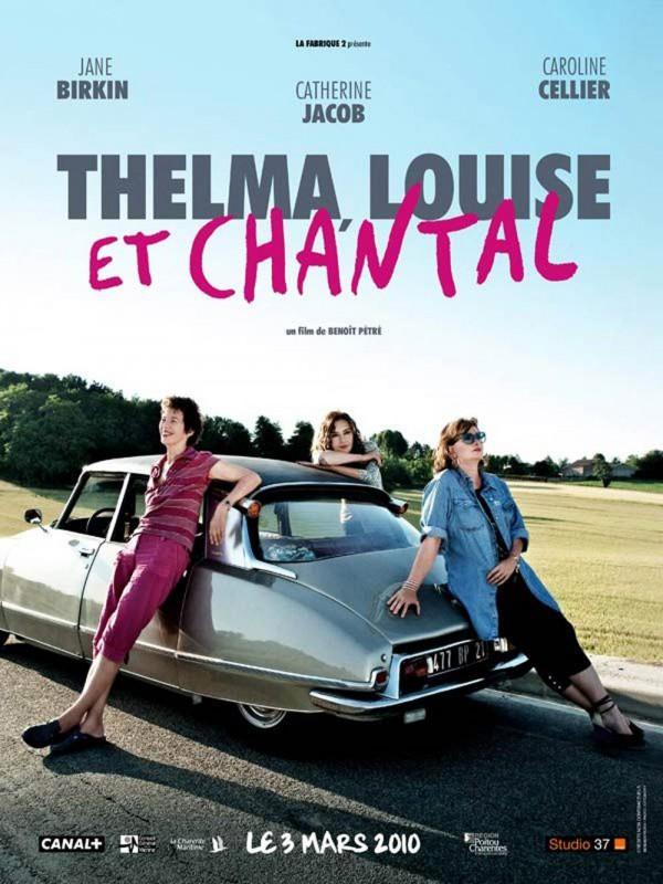 Thelma, Louise e Chantal: la locandina originale del film