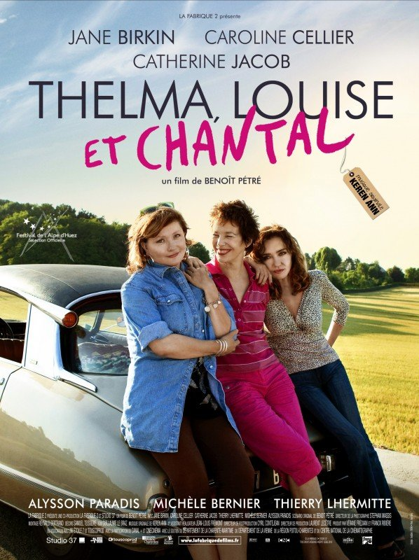 Thelma, Louise e Chantal: una locandina del film