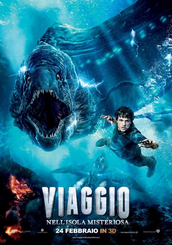 Viaggio nell'isola misteriosa: il character poster con Josh Hutcherson
