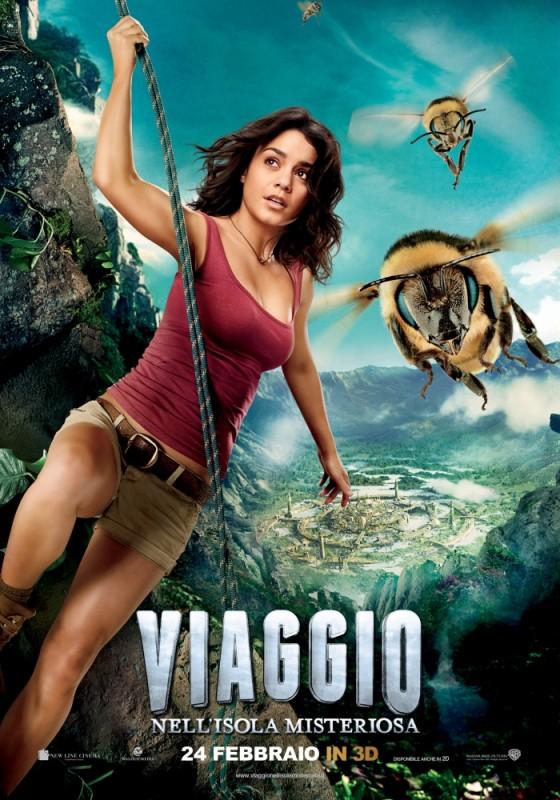 Viaggio nell'isola misteriosa: il character poster con Vanessa Hudgens