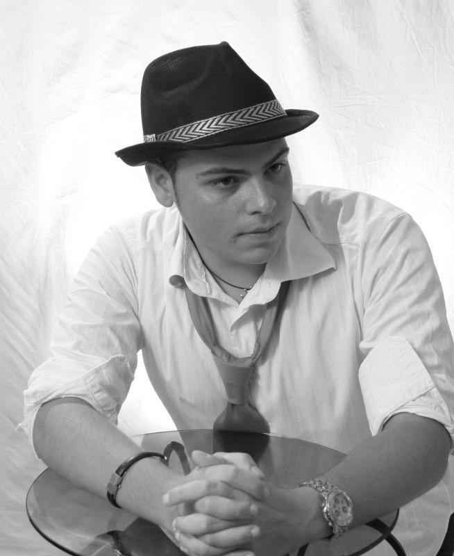 Giacomo Bucci in una immagine promo per The King of Pop for Orchestra