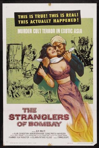 Gli strangolatori di Bombay: la locandina del film