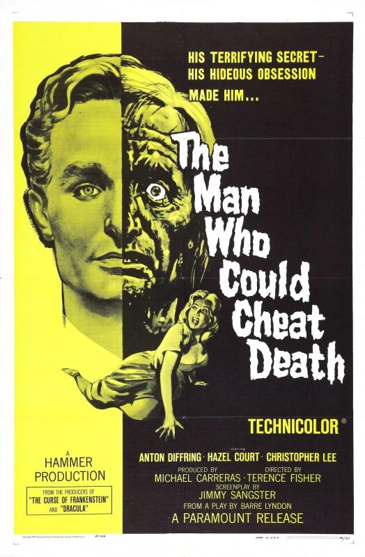 L'uomo che ingannò la morte: la locandina del film
