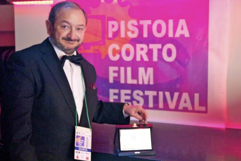 Orfeo Orlando premiato al Pistoia Corto Film Festival, per Krokodyle