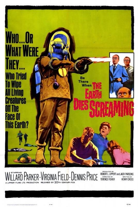 The Earth Dies Screaming: la locandina del film