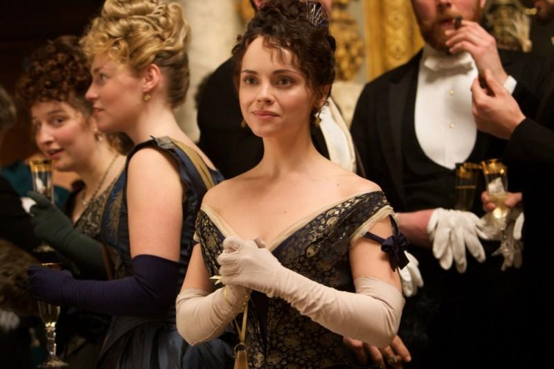 Bel Ami: Christina Ricci in una scena del film
