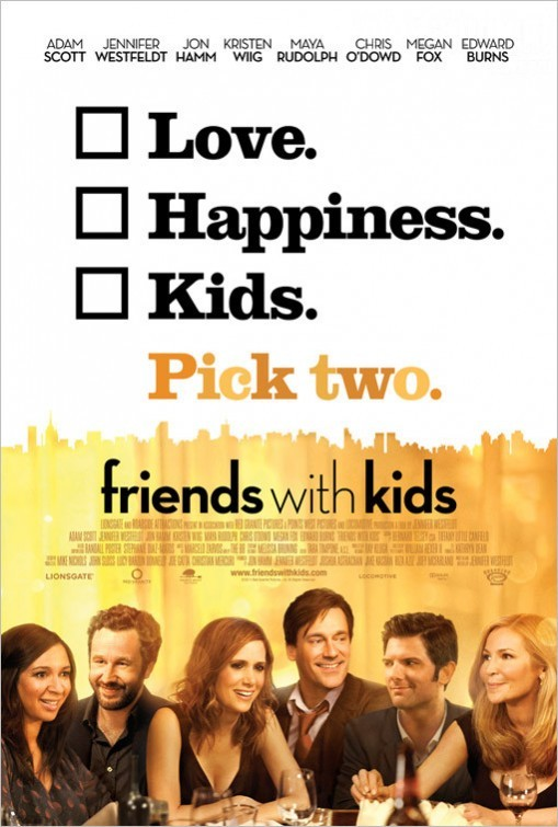 Friends With Kids: nuovo poster USA