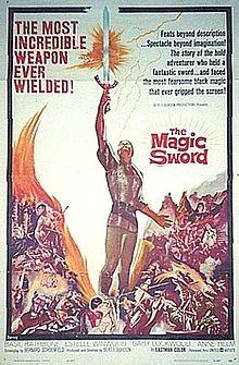 La spada magica: la locandina del film