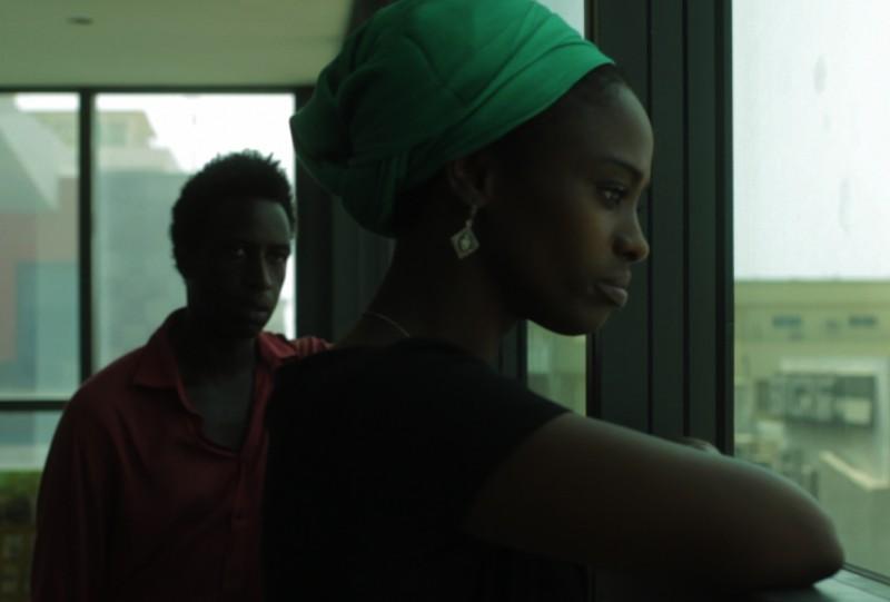 Aïssa Maïga e Saul Williams in una scena di Aujourd'hui