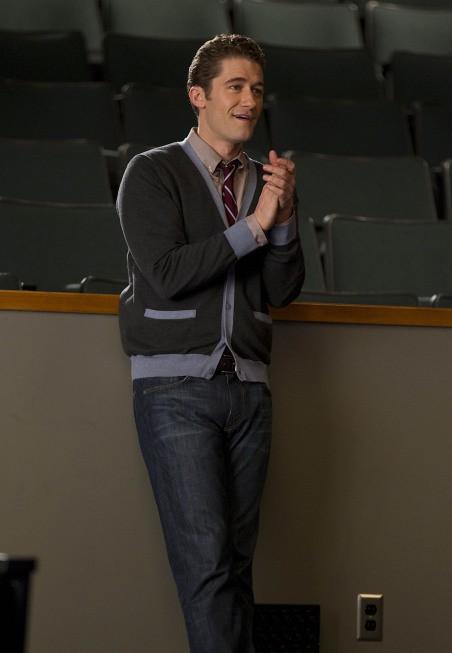 Glee: Matthew Morrison nell'episodio Michael