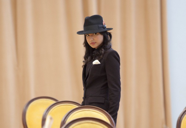 Glee: Naya Rivera nell'episodio Michael