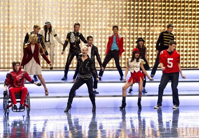 Glee: una delle coreografie dell'episodio Michael
