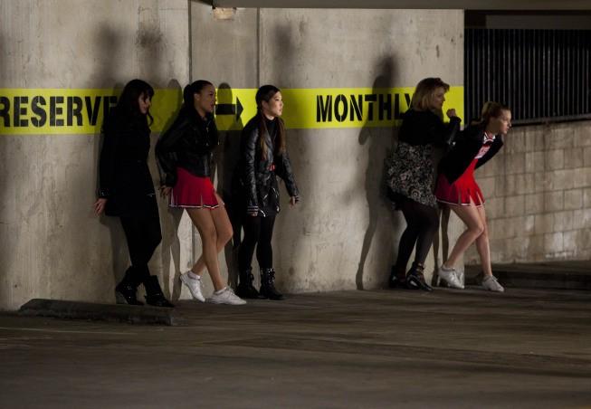 Glee: una scena dell'episodio Michael