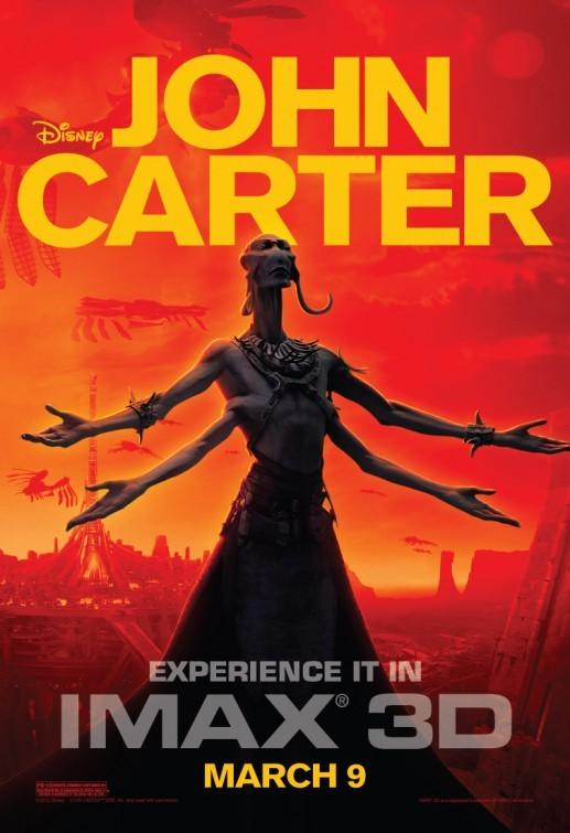 John Carter: poster per la versione IMAX