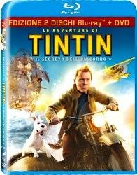 La copertina di Le avventure di Tintin: il segreto dell'unicorno (blu-ray)