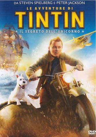 La copertina di Le avventure di Tintin: il segreto dell'unicorno (dvd)