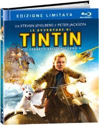 La copertina di Le avventure di Tintin: il segreto dell'unicorno - Edizione limitata (blu-ray)