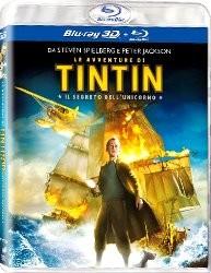La copertina di Le avventure di Tintin: il segreto dell'unicorno in 3D (blu-ray)