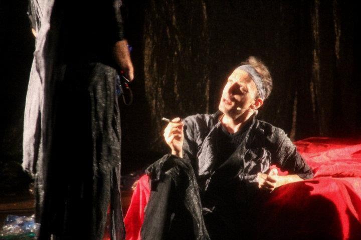 Mario Massaro a teatro con Fedra di Natale Filice